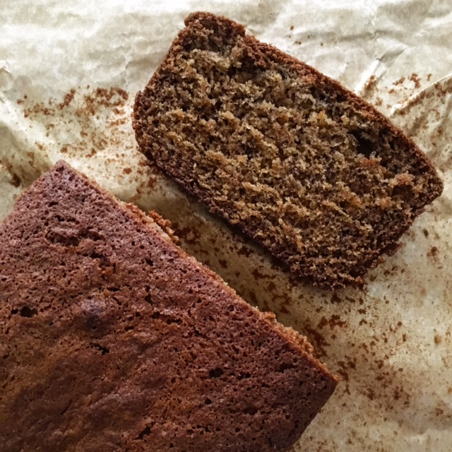 Ras el Hanout Spiced Banana Bread and  a foray into theunknown